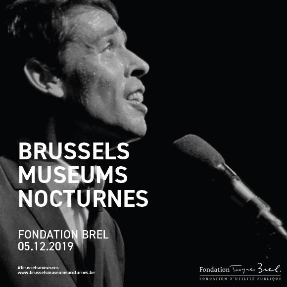 Brussels Museum Nocturnes Fondation Brel