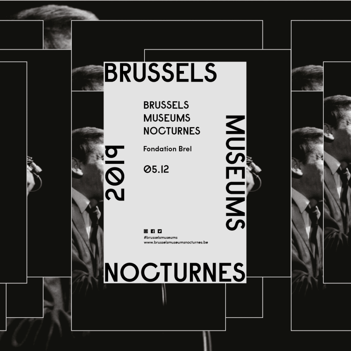La Fondation Brel au Brussels Museums Nocturnes