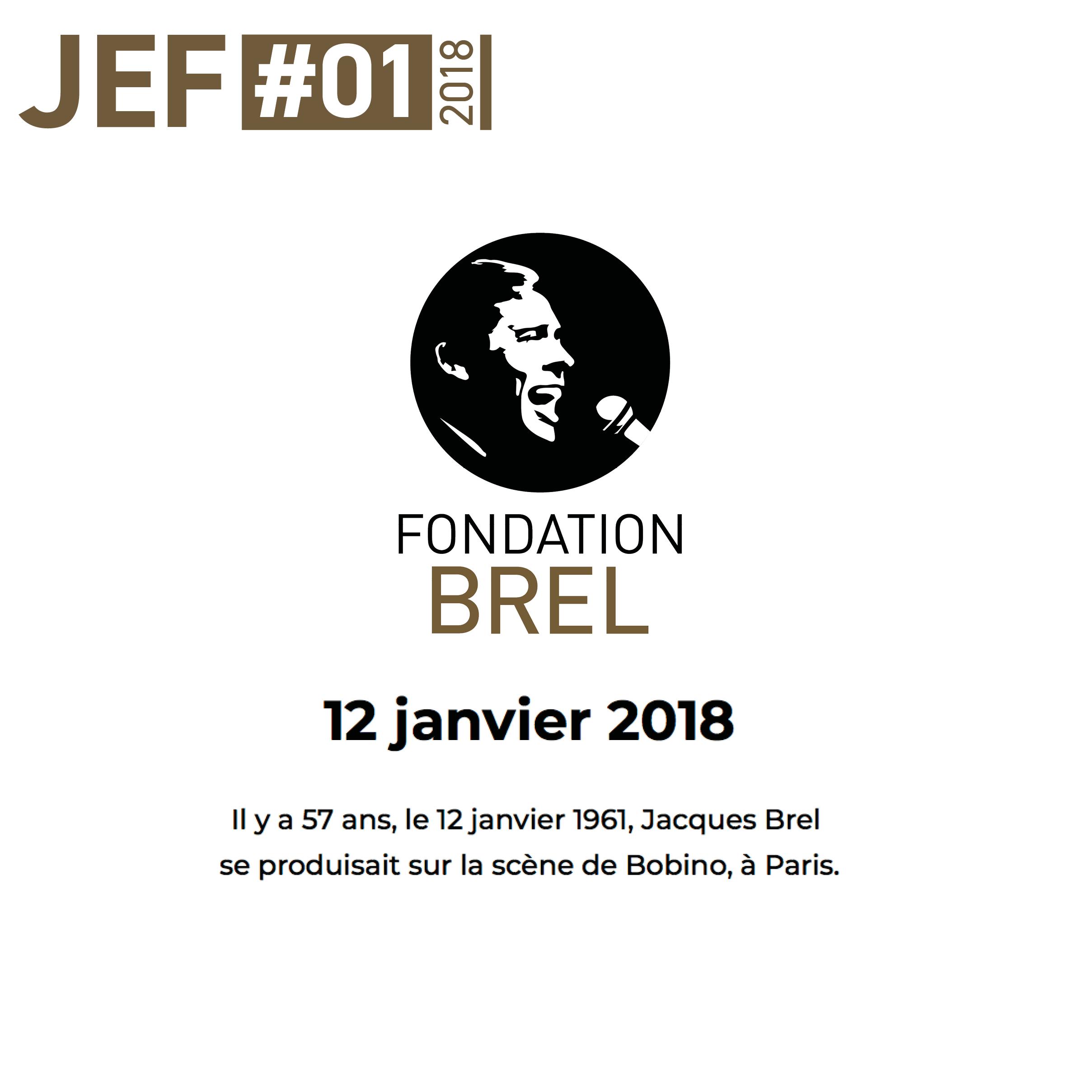 JEF – Newsletter Janvier 2018