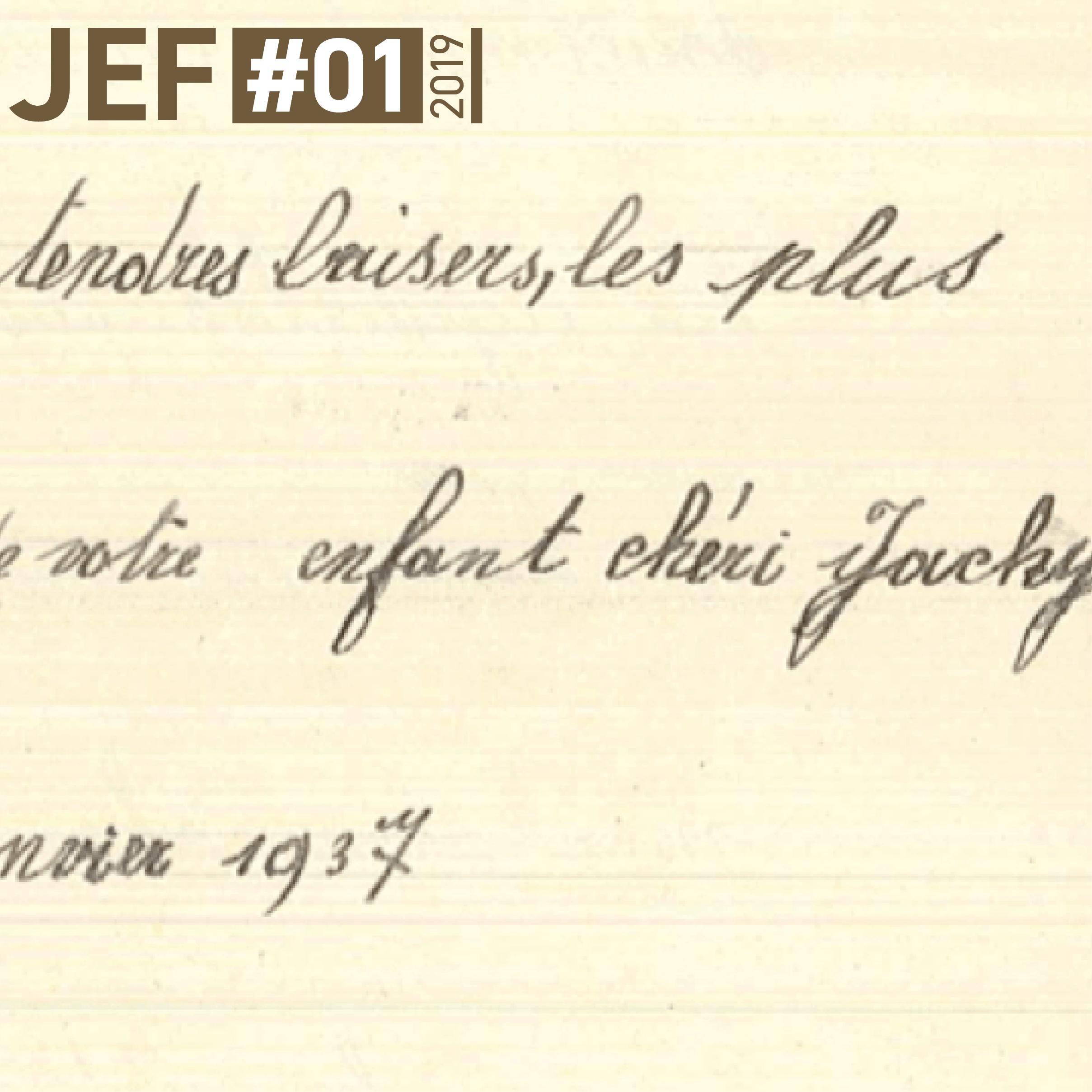 JEF – Newsletter Janvier 2019
