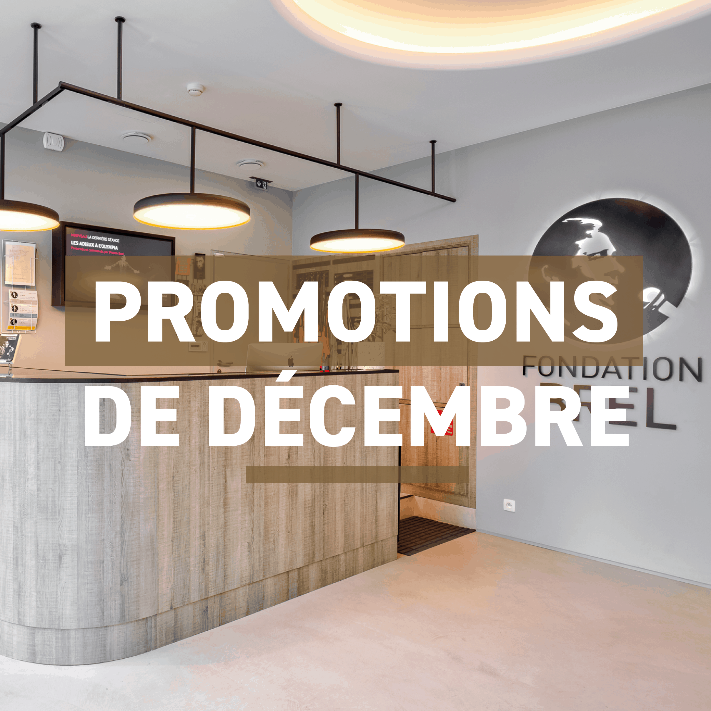 Promotions tous le mois de décembre dans la boutique !
