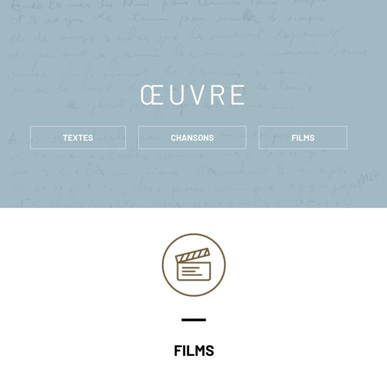 Nouveau sur le site : les films