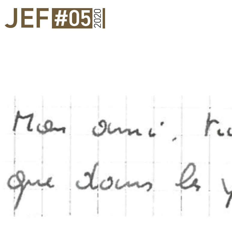 JEF – Newsletter Mai 2020