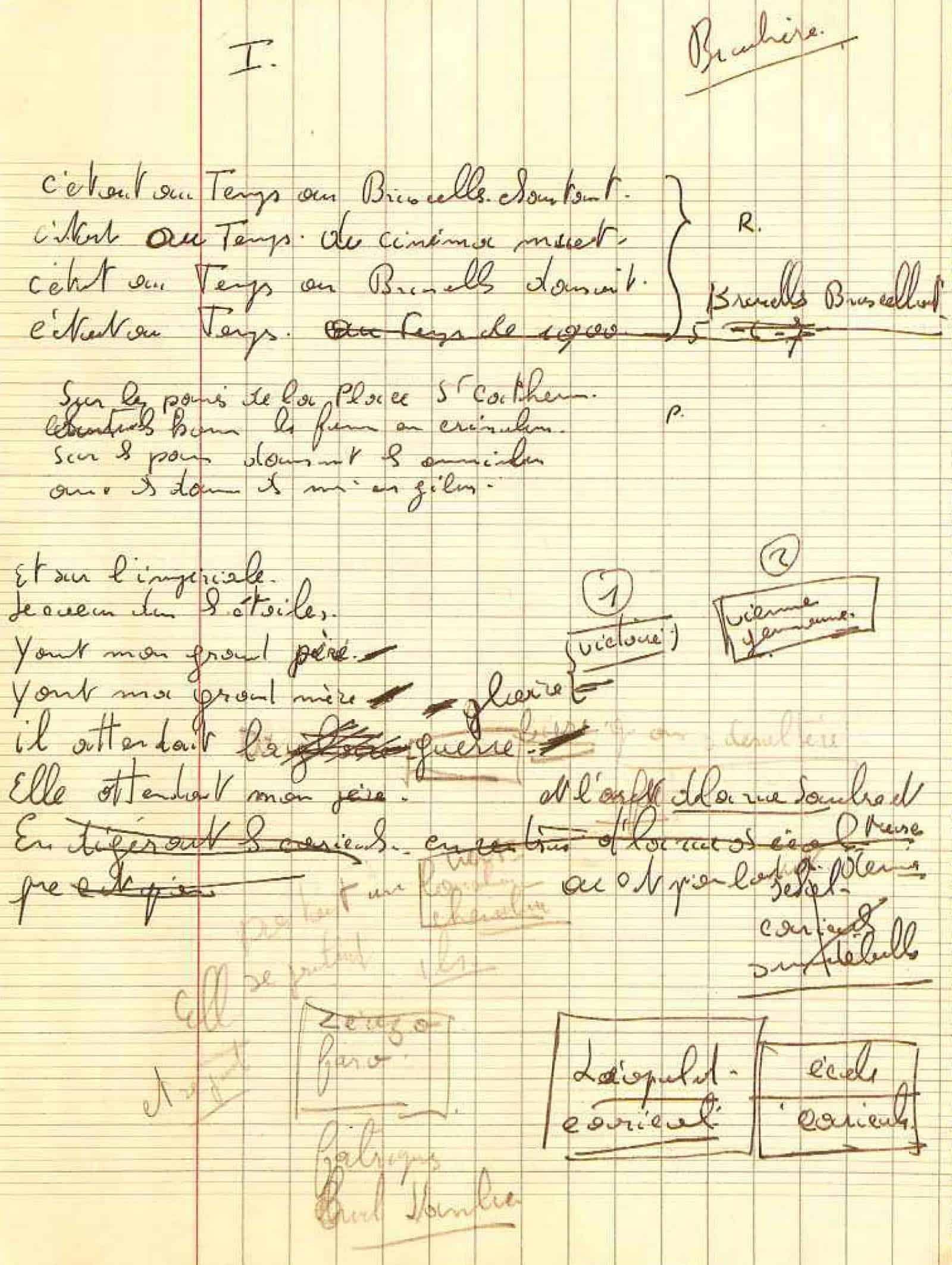 Manuscrit Bruxelles