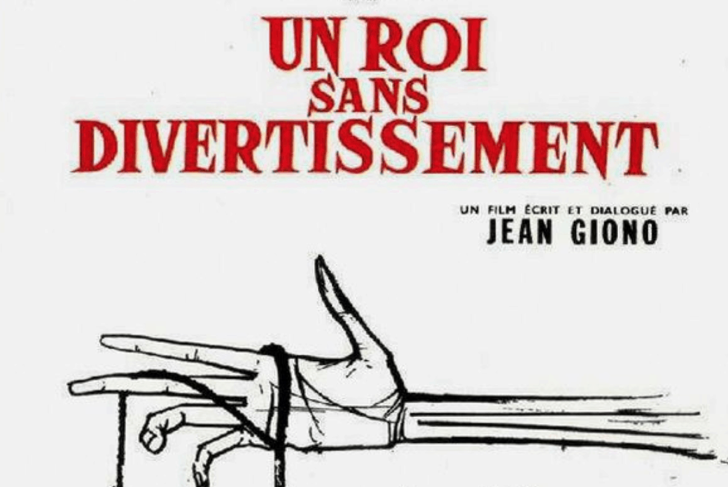 UN ROI SANS DIVERTISSEMENT