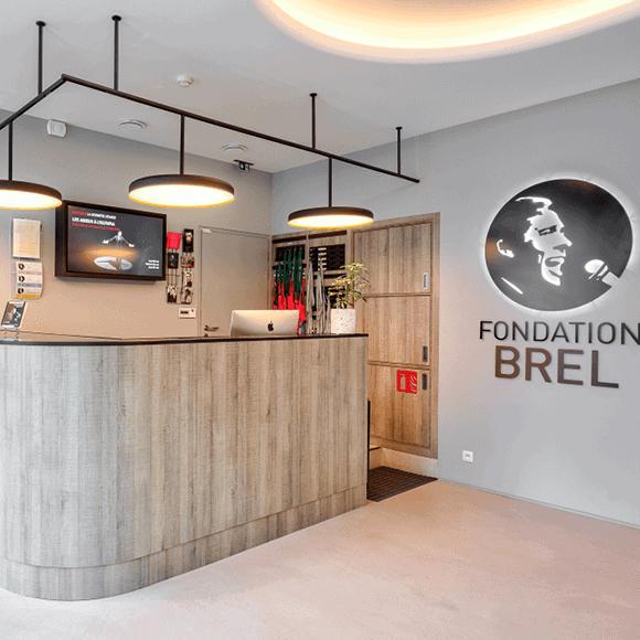 Une visite de la Fondation Brel