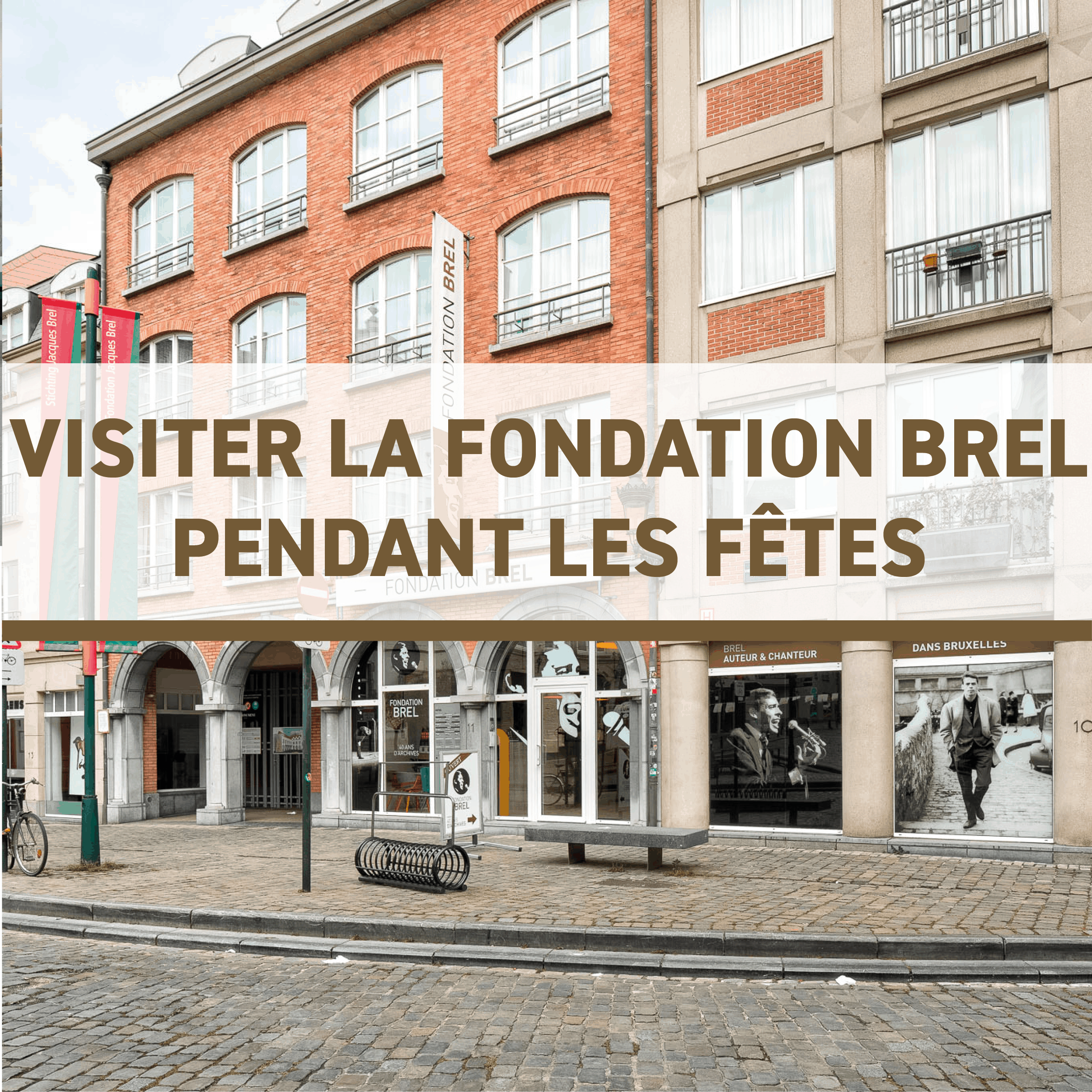 Visiter la Fondation Brel pendant les fêtes