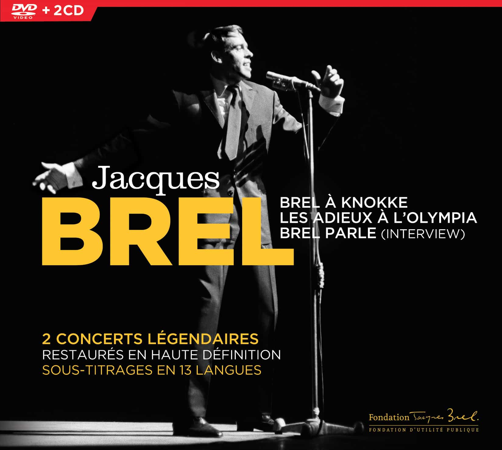 Brel en concerts et en interview DVD